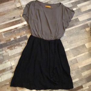 ⚡️Alice & Olivia Gray and Black Dress size S ♥️